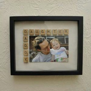 frame using classic photo prints