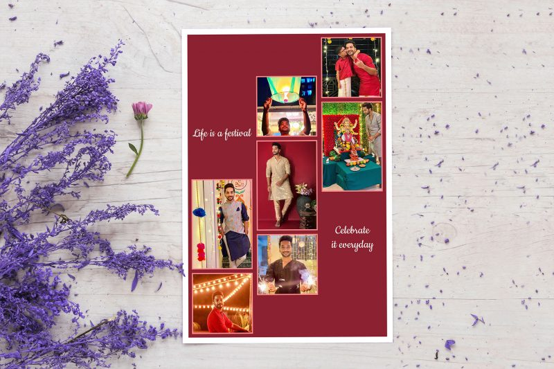 Try out Diwali special Poster Collages to decorate your room!
