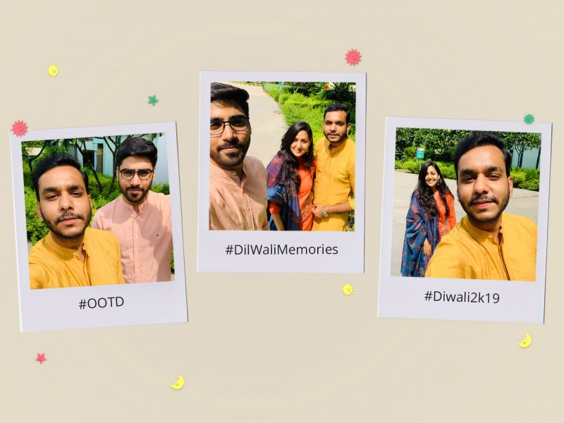 Flaunt your Diwali outfits in Signatures and add fun hashtags