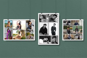 Memory Lane Poster Collage-pixylz-product